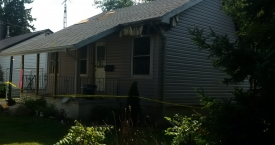 Fire Damage to Front of House