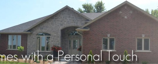 Homes with Personal Touch